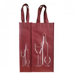 Wine Wowen Bag