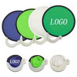 Fresbee Foldable Hand Fan
