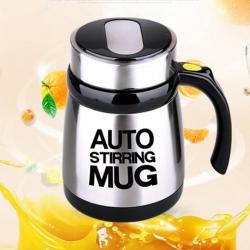 Stainless Auto Mixing Coffee Mug