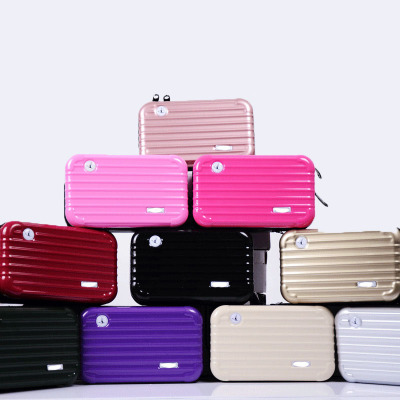 Ctp 012 Luggage Style Cosmectic Pouch Make Up Case Toiletry Bag Hard Case Travel Bag