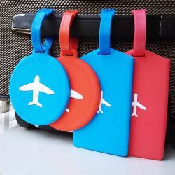 Rubberised Luggage Tag