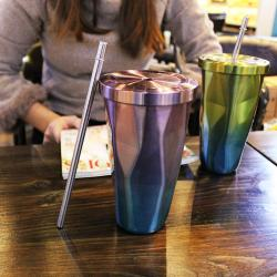 Stainless Steel Straw Cup