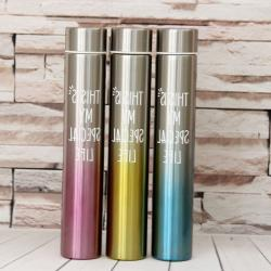 Stainless Steel Straight Flask