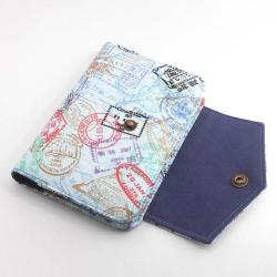 Fabric Passport Holder