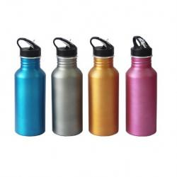 Metallic Color Aluminium bottle 600ml