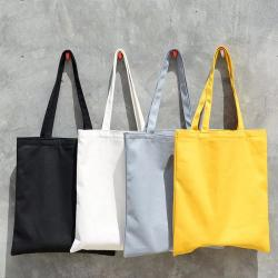 Colored Eco Canvas Bags