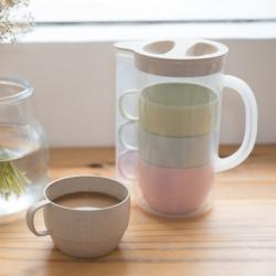 Eco-friendly Jug with Cups Set